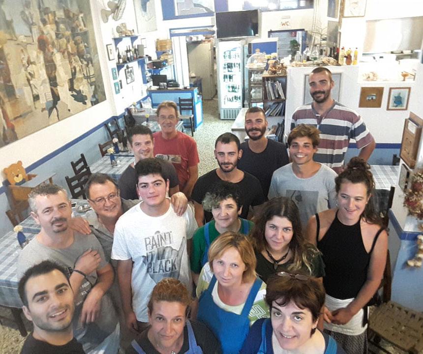 Staff To Limani tis kyra Katinas Amorgos